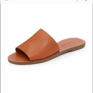 Shoes - Madewell leather slide